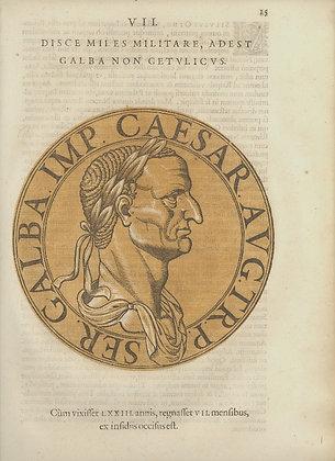 Plate 007: Galba (A.D. 68-69)