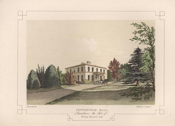 Plate 16: Penwortham Hall