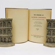 The Memoirs of Jacques Casanova 1928 12 Volumes Hardback, blue cloth $85.00