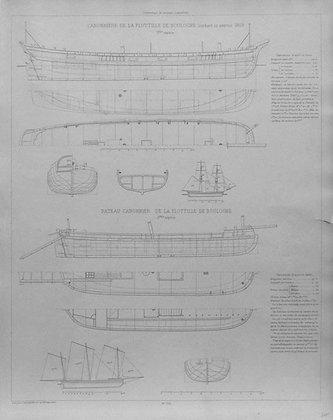 Gravure de Randon Danes le Manuscrit de Barras de