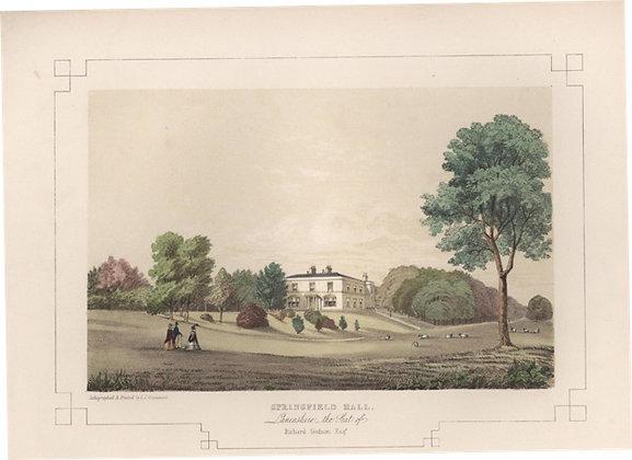 Plate 17: Springfield Hall