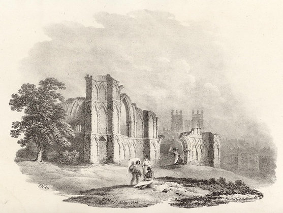 Plate 12: St. Mary's Abbey, York