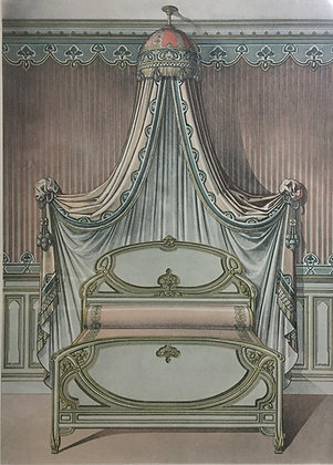 Beds and Drapes: Plate 8