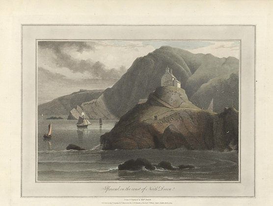 Plate 07: Ilfracomb on the coast of North Devon