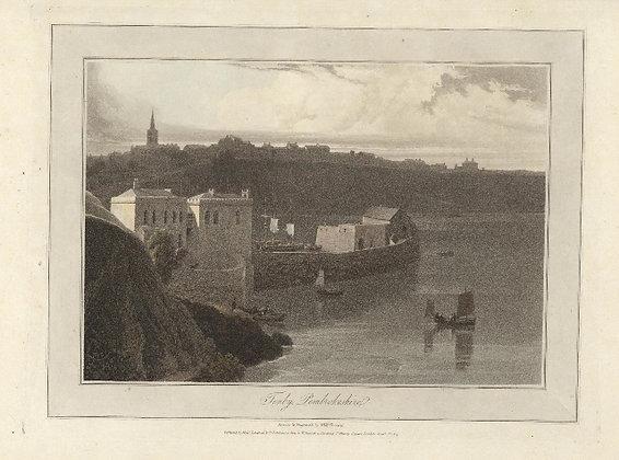 Plate 16: Tenby. Pembrokeshire