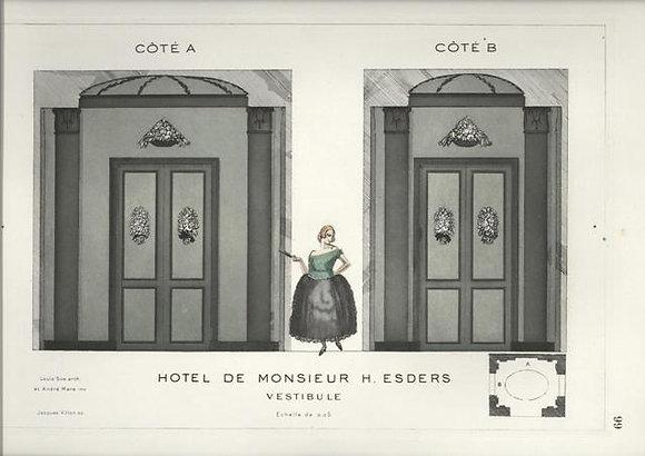 Hotel de Monsieur H. Esders Vestibule