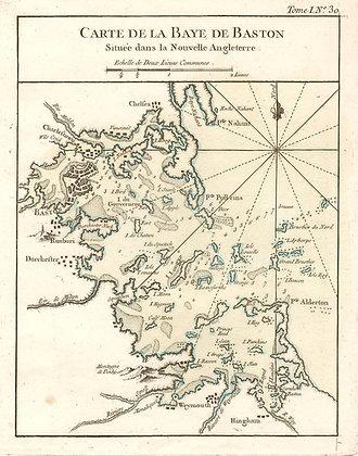 Carte de la Baye de Baston