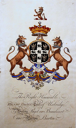 Crest of Henry Paget