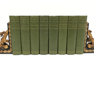 Hugo, Victor. Works 1899 8 Volumes Hardback, green cloth $150.00