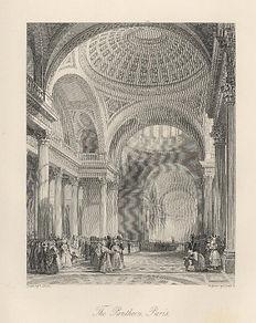 Allom. The Pantheon, Paris