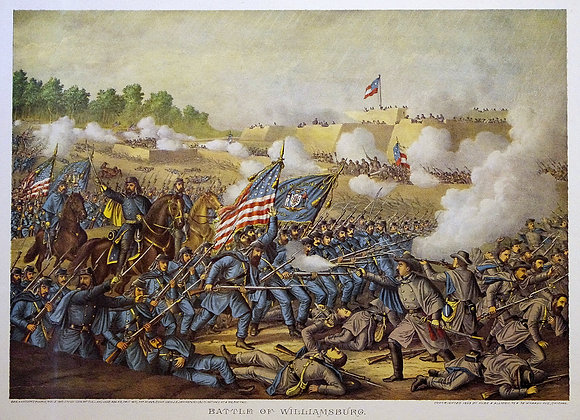 Battle of Williamsburg.