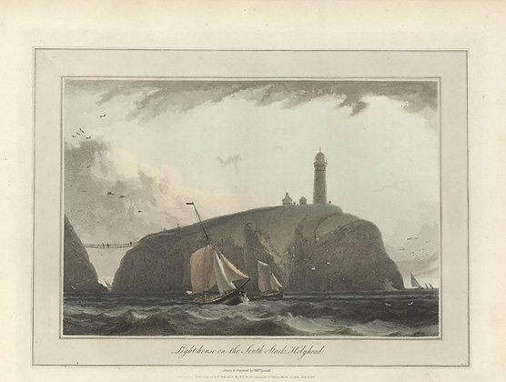 Plate 26: Light-house on the South Stack. Holyhead