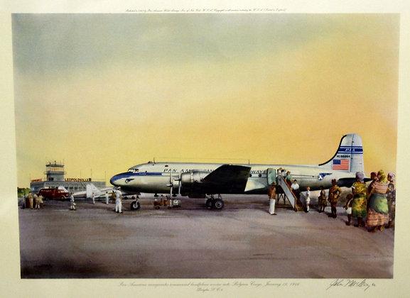 Plate No. 06: Douglas DC-4