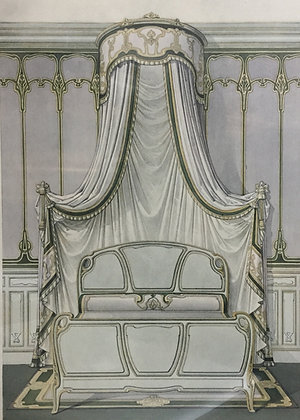 Beds and Drapes: Plate 1