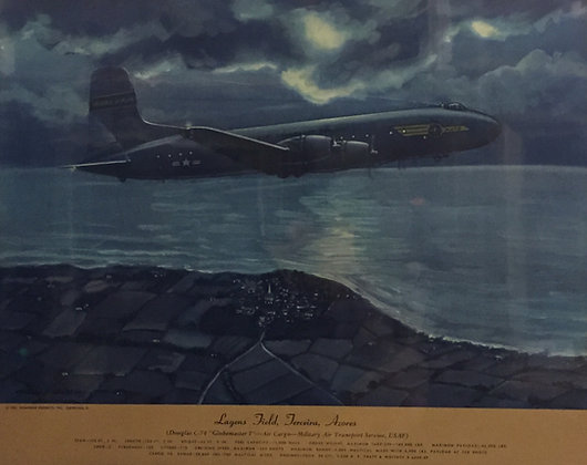 "Douglas C-74 ""Globemaster I"": Lagens Field, Azores"