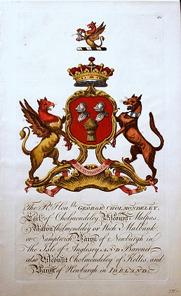 Crest of George Cholmondeley