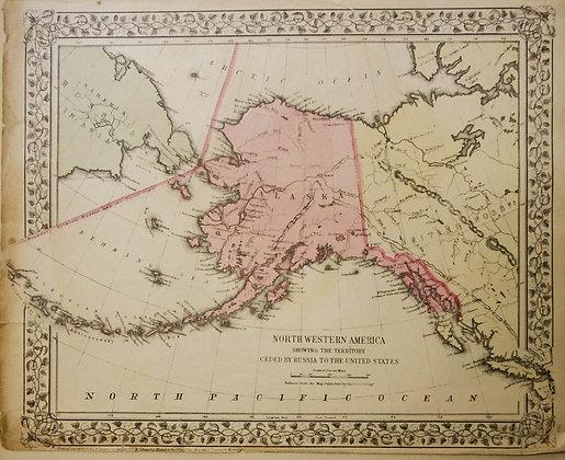 Northwestern America: Territory ceded by Russia