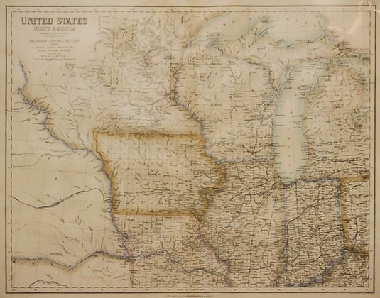 The North Central : United States in North America