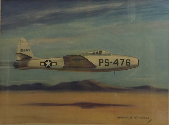 "The Republic P-84 ""Thunderjet"""