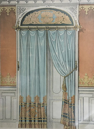 Beds and Drapes: Plate 19