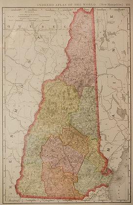 Rand, McNally & Co.'s New Hampshire
