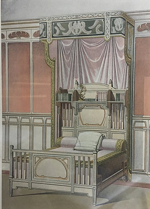 Beds and Drapes: Plate 14