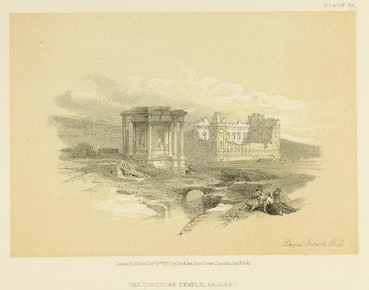 Plate 82 : The Circular Temple, Baalbec