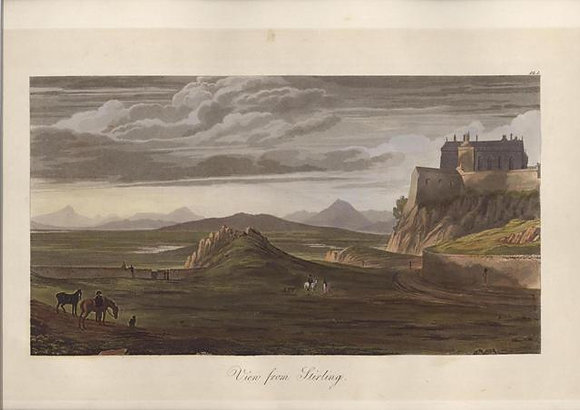 Plate 01: View from Stirling