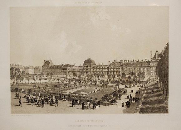 Palais des Tuileries (Fa�ade sur le Jardin).