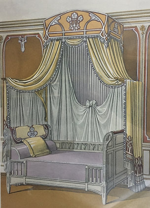 Beds and Drapes: Plate 12