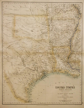 The South Central : United States in North America