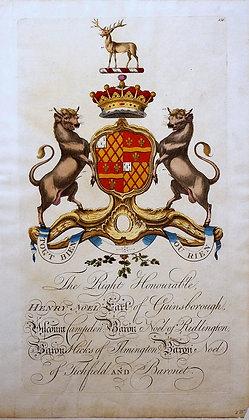 Crest of Henry Noel