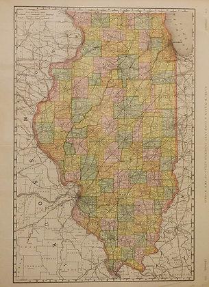 Rand McNally's Illinois