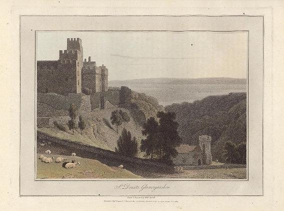 Plate 12: St. Donats. Glamorganshire