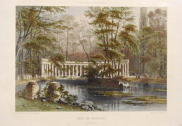 Parc de Monceaux. ( La Naumachie. )