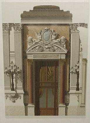 Loggia, Detail D'Une Travee Le Nouvel Opera de Par