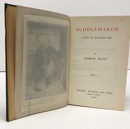 Elliot, George. Works. 1906. 9 volumes. Hardback, green cloth $75.00