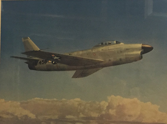 Air Force F-86D Sabre Jet