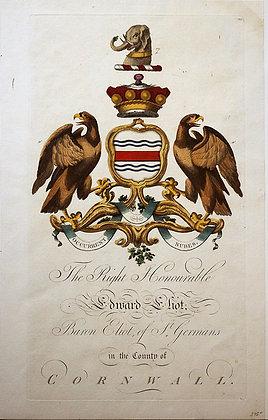 Crest of Edward Eliot