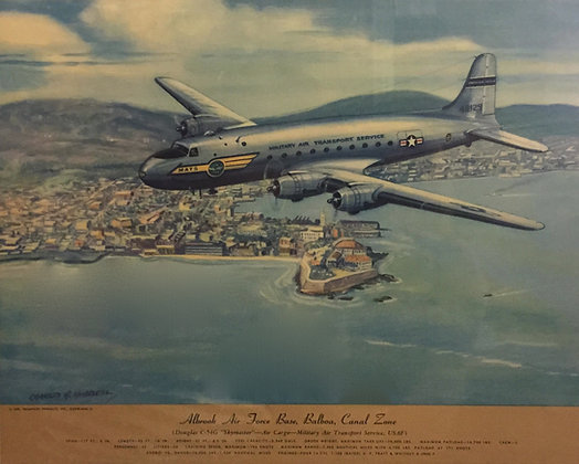"Douglas C-54G ""Skymaster"" : Albrook AFB, Balboa"