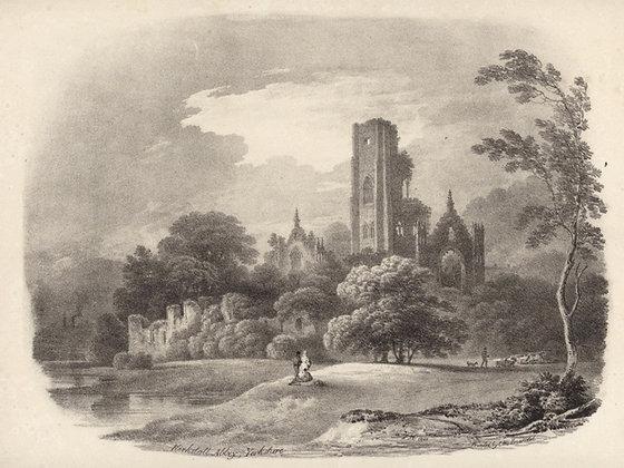 Plate 14: Kirkstall Abbey, Yorkshire