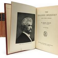 Twain, Mark. Works 1896 24 Volumes Hardback, red cloth