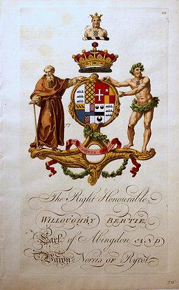 Crest of Willoughby Bertie