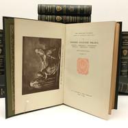 Hardvard Classics Shelf of Fiction 1917 19  Volumes  hardback, black cloth $150.00