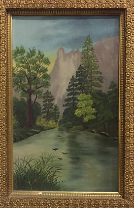 River and Pines