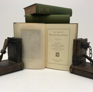 The Works of William Shakespeare 1901 8 Volumes Hardback, green cloth $50.00