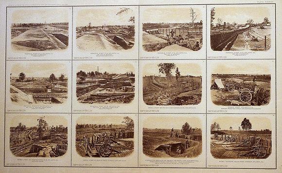Federal Lines & Rebel Forts. Atlanta, GA. (127)
