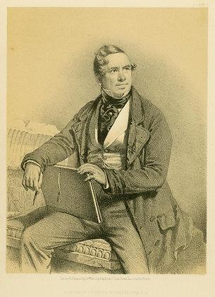 Plate 001: Portrait of David Roberts, Esq., R.A