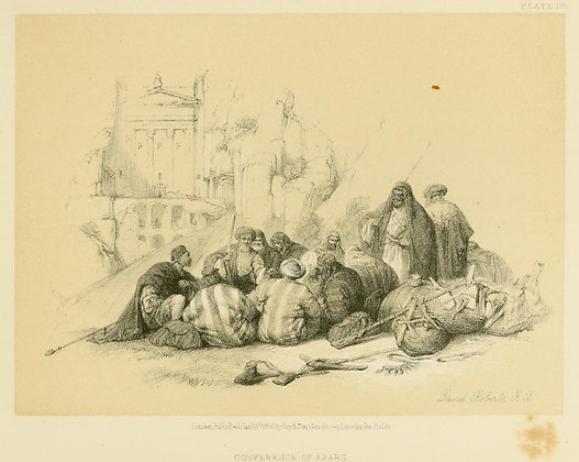 Plate 101 : Conference of Arabs