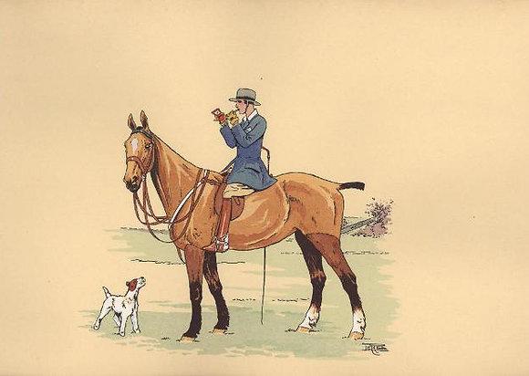 Plate 01: Elegante et son chien